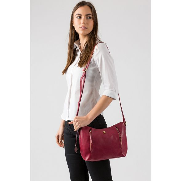 Orchid 'Esta' leather Conkca handcrafted London bag ZPwp6