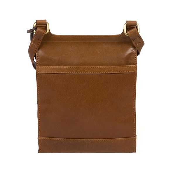 leather tan Conkca cross Dark body London 'Sasha' bag handmade 6OOwXfqEyx