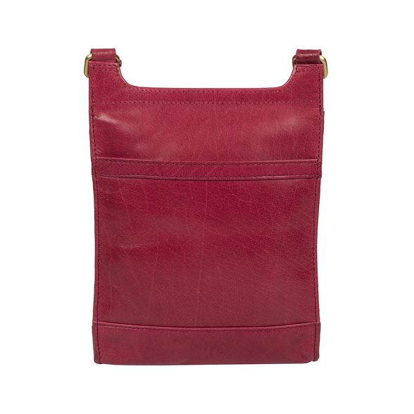 Orchid 'Sasha' leather body bag handcrafted Conkca cross London gUR5qp