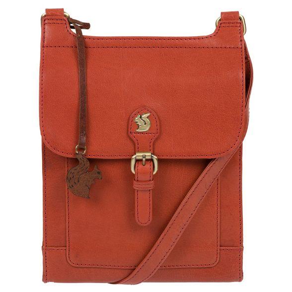 bag body leather Conkca cross 'Sasha' London Burnt orange handmade O0H8qx