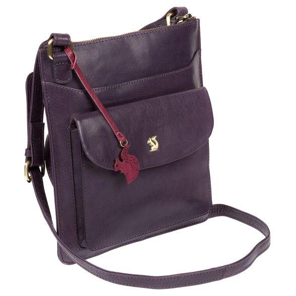 body London handcrafted 'Lauryn' leather Blackberry Conkca cross bag Yqgwdt