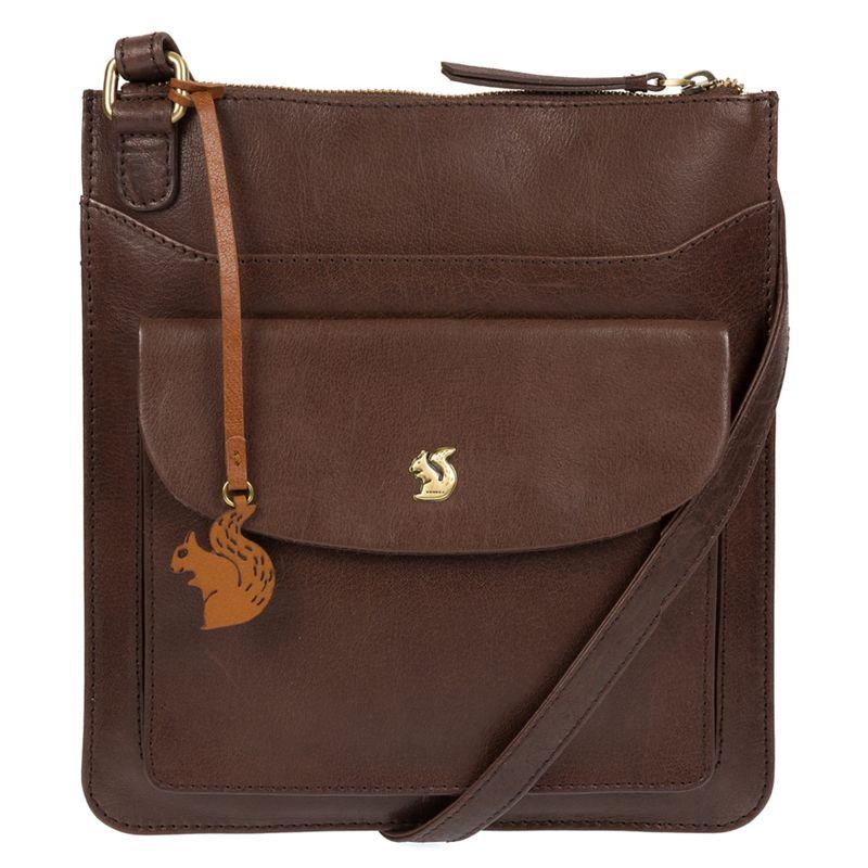 Conkca London - Dark Brown Lauryn Handcrafted Leather