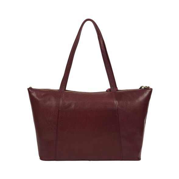 'Clover' Conkca Plum handcrafted bag leather London REFExwqf