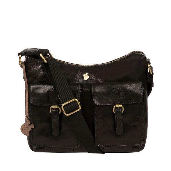 leather handmade Conkca 'Nancie' bag Black London hobo gZg6IUxq7w