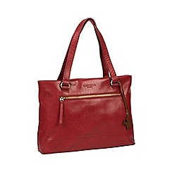 Conkca London - Chilli Pepper  Alice  handmade leather handbag 238c21c82417