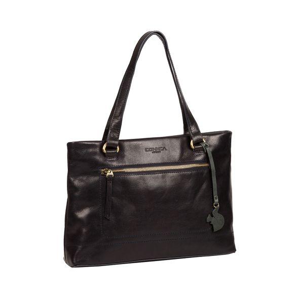 'Alice' London leather Conkca handmade handbag Navy x7SnF0Sg