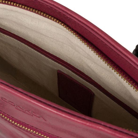 'Alice' handmade London handbag Conkca Orchid leather gnSwFR1xq
