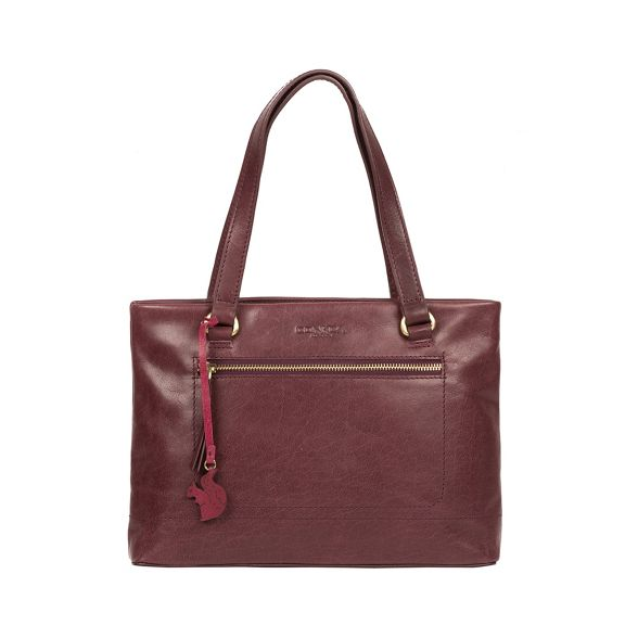 handbag Conkca 'Alice' leather handmade London Plum OAA7XwTgp