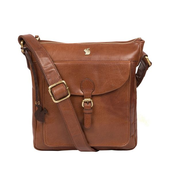 'Josephine' bag brown leather London Conker handcrafted Conkca B7qSfAHW