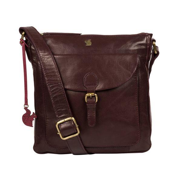 cross handcrafted 'Josephine' leather bag London Plum body Conkca TAXFxqSwnn