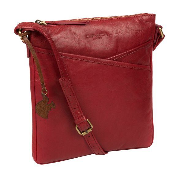 pepper bag 'Avril' handmade Conkca London Chilli leather EgcBRqB