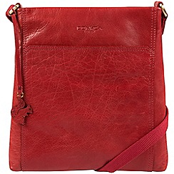 Conkca London - Scarlet 'Dink' handcrafted leather crossbody bag
