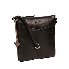 Conkca London - Black 'Avril' handmade leather bag