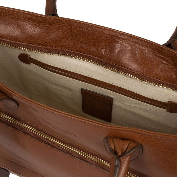 Conker brown 'Mona' bag handcrafted London hand leather Conkca UxOw5qB