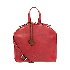 b966f8c3a132 Conkca London - Chilli pepper  Ingrid  leather cross body bag