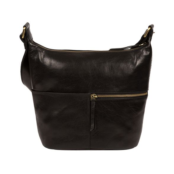 'Kristin' handmade bag leather London Black Conkca HtwqEX0