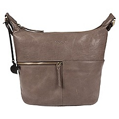 Conkca London - Brown 'Kristin' handcrafted leather bag