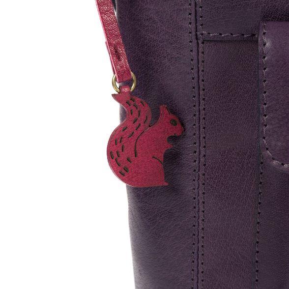 Blackberry leather bag 'Robyn' London handmade Conkca gwq45ng