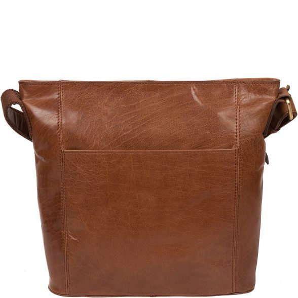 handcrafted bag brown London Conker Conkca 'Robyn' leather FYZ0qFIx
