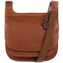 Conkca London - Whiskey 'Kew' genuine leather bag