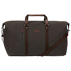 Conkca London - Grey 'Suttom' canvas holdall