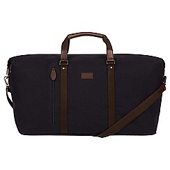 Conkca London - Navy 'Suttom' canvas holdall