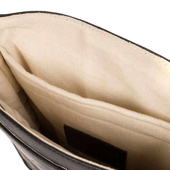 black Vintage leather bag despatch London 'Bowen' Conkca xF1w7Pq