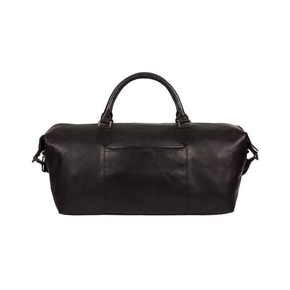leather Conkca London 'Storey' Vintage holdall black wfw4I