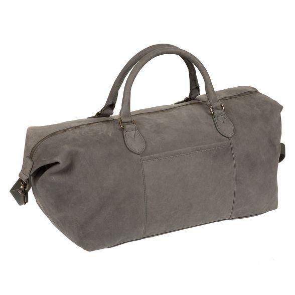 London grey holdall Vintage leather Conkca 'Storey' AxvpqAcCdw