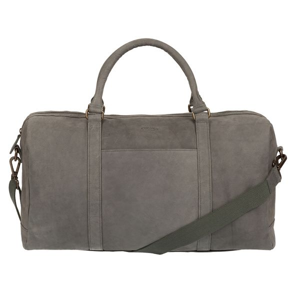 'Orton' holdall London Vintage grey Conkca leather YZ0T8wnq