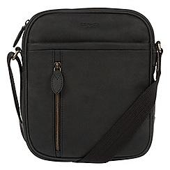 Conkca London - Vintage black 'Lowe' despatch bag