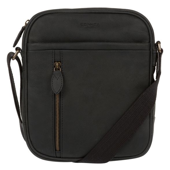 despatch Vintage London black 'Lowe' bag Conkca xUpT6wn6