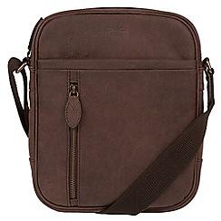 Conkca London - Vintage brown 'Lowe' despatch bag