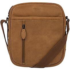 Conkca London - Vintage chestnut 'Lowe' despatch bag