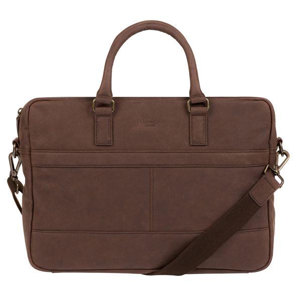 bag messenger Conkca brown Vintage London leather 'Grafton' FxxqYvzHw