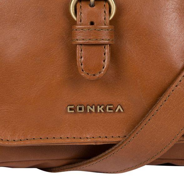 'Mojito' handcrafted cross Conkca bag body Tan leather London Etat6qw