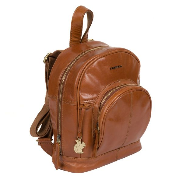 Tan backpack fine 'Kir' Conkca leather London vxUqqpf
