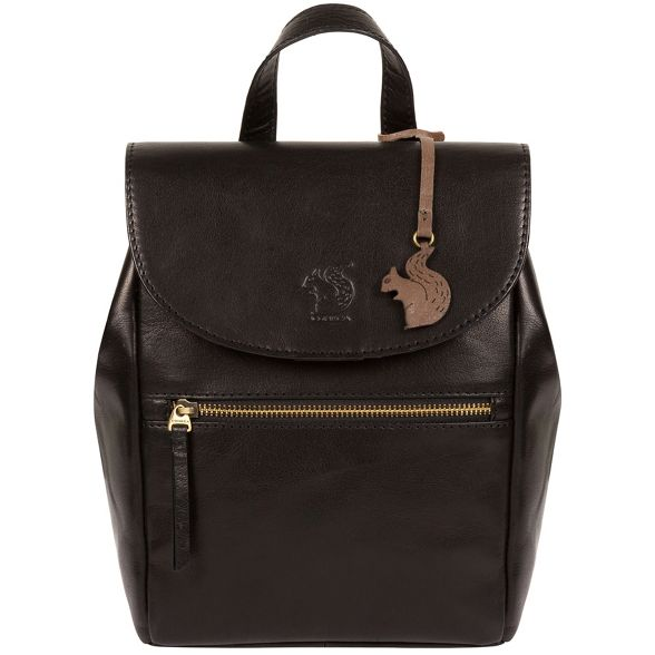 Conkca backpack leather London handcrafted 'Simone' Black zRrv0BqRW