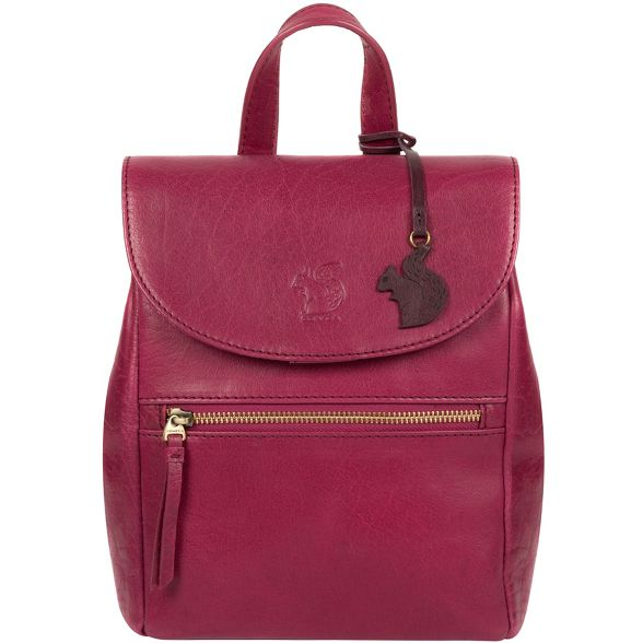 backpack Conkca London leather 'Simone' Orchid handcrafted 7ZnYnx16vq