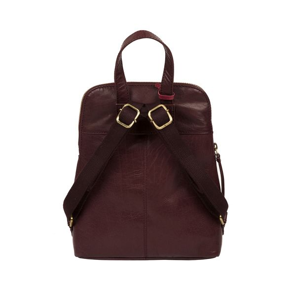 Conkca Plum backpack London handcrafted 'Kendal' leather RPSRwY