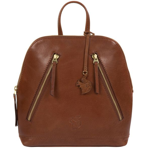 Conker brown London 'Zoe' leather Conkca backpack handcrafted UqAPx