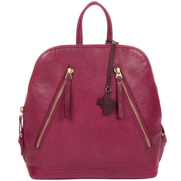 Conkca Orchid leather London backpack handcrafted 'Zoe' wa5wpr