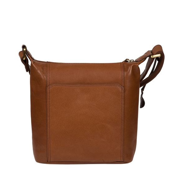 bag London body cross brown leather Conker Conkca 'Yasmin' B0qUZgUw