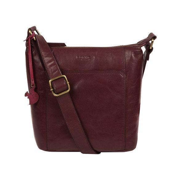 body Plum bag leather 'Yasmin' cross Conkca London Xq5zS7