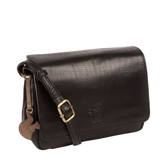 bag cross handcrafted body leather London Conkca Black 'Marta' wC60CqX