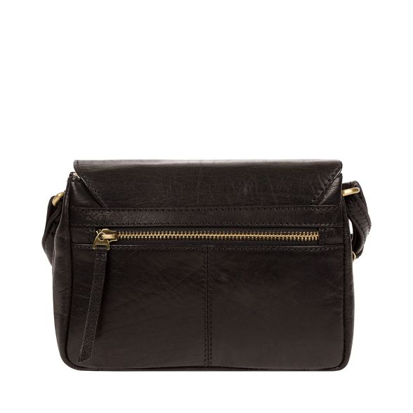 'Marta' Conkca leather Black cross handcrafted London bag body wvOEv