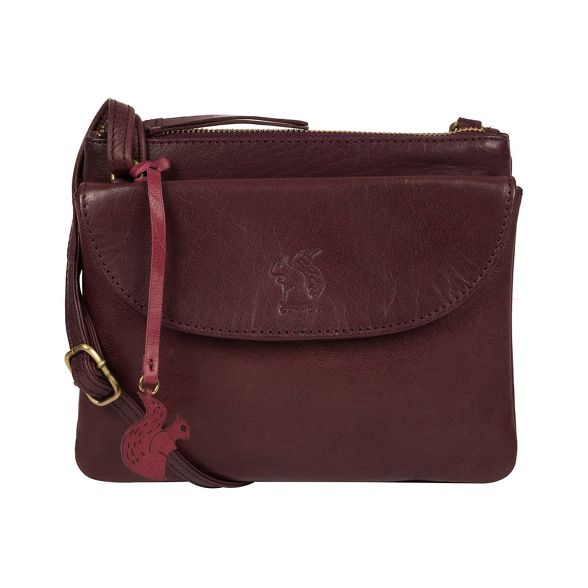 cross London bag Plum 'Tillie' leather Conkca body wT8qI8x
