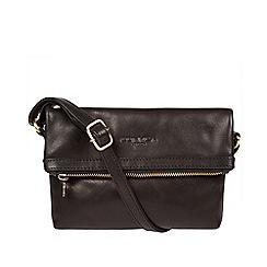Conkca London - Black 'Emin' leather cross-body bag