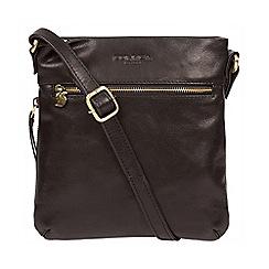 Conkca London - Black 'Yayoi' leather cross-body bag
