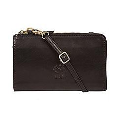 Conkca London - Black 'Senga' leather cross-body bag
